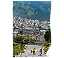 Basillica2, Quito, Ecuador Poster