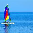 Reflecting on sailing by eyeland