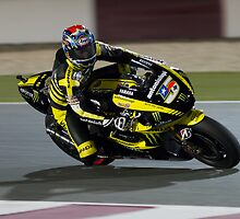 Colin Edwards in Qatar 2011 by corsefoto