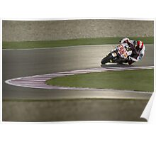 Marco Simoncelli in Qatar 2011 Poster