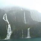Waterfalls, Mountains and Mist. by Anthony Keevers