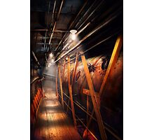 Steampunk - Plumbing - The hallway Photographic Print