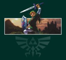 Link / Hyrule by thecleverist
