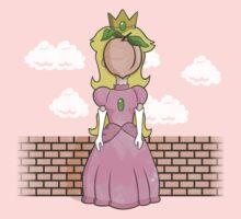 The Princess of Peach One Piece - Short Sleeve