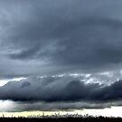 Storm clouds over New York City  by Alberto  DeJesus