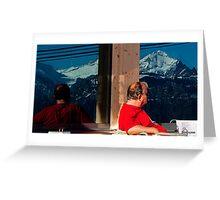 Berner Oberland Greeting Card