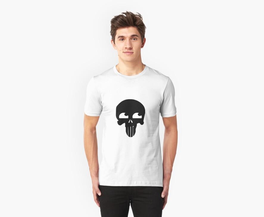 Happy Punisher (Black) by vamp1r4t3