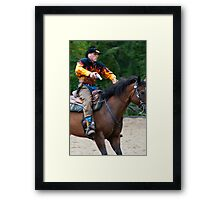 """""""Northern Ohio Outlaws"""" #24 Framed Print"""