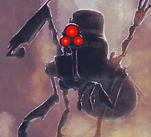 Robot/The Dystopian by Kelly Guillory