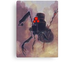 Robot/The Dystopian Canvas Print