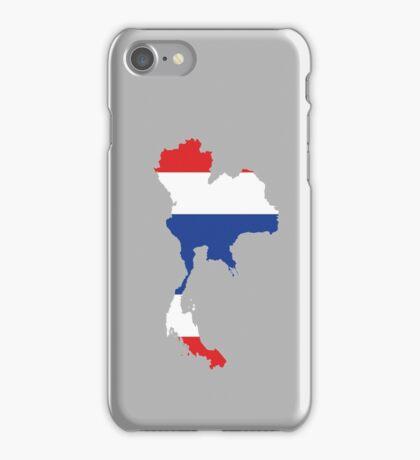 Thailand map,flag iPhone Case/Skin