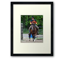 """""""Northern Ohio Outlaws"""" #28 Framed Print"""