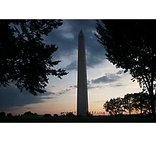 Washington Monument Photographic Print