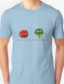 Funny Veggies Broccoli and Tomato T-Shirt