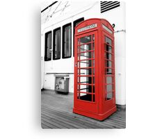British Conversations Canvas Print