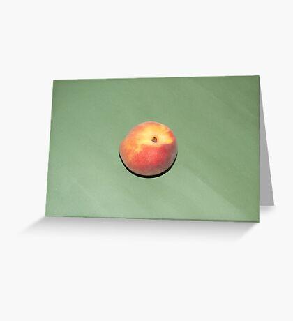 Peach Greeting Card