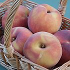 Peaches in a basket  by celiapoon