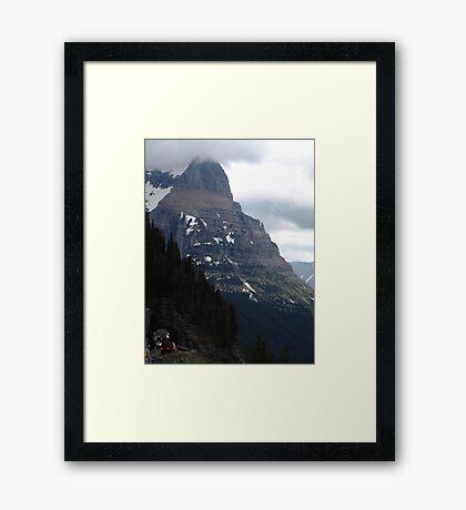 INSIGNIFICANT TRAFFIC JAM Framed Print