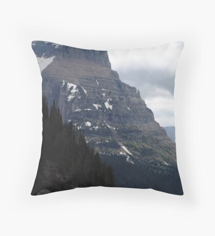 INSIGNIFICANT TRAFFIC JAM Throw Pillow