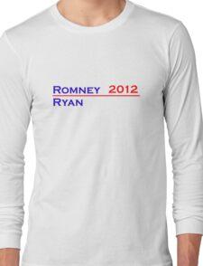 Romney-Ryan 2012 Shirt Long Sleeve T-Shirt