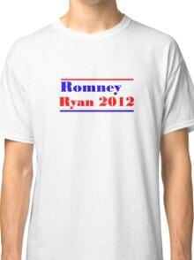 Mitt Romney/Paul Ryan Election Shirt Classic T-Shirt