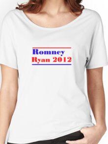 Mitt Romney/Paul Ryan Election Shirt Women's Relaxed Fit T-Shirt