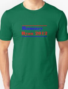 Mitt Romney/Paul Ryan Election Shirt Unisex T-Shirt