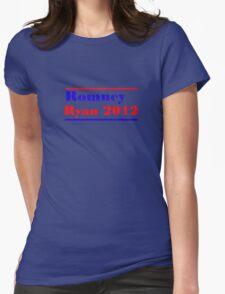 Mitt Romney/Paul Ryan Election Shirt Womens Fitted T-Shirt