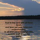 Proverbs 3:5-6 by gypsykatz