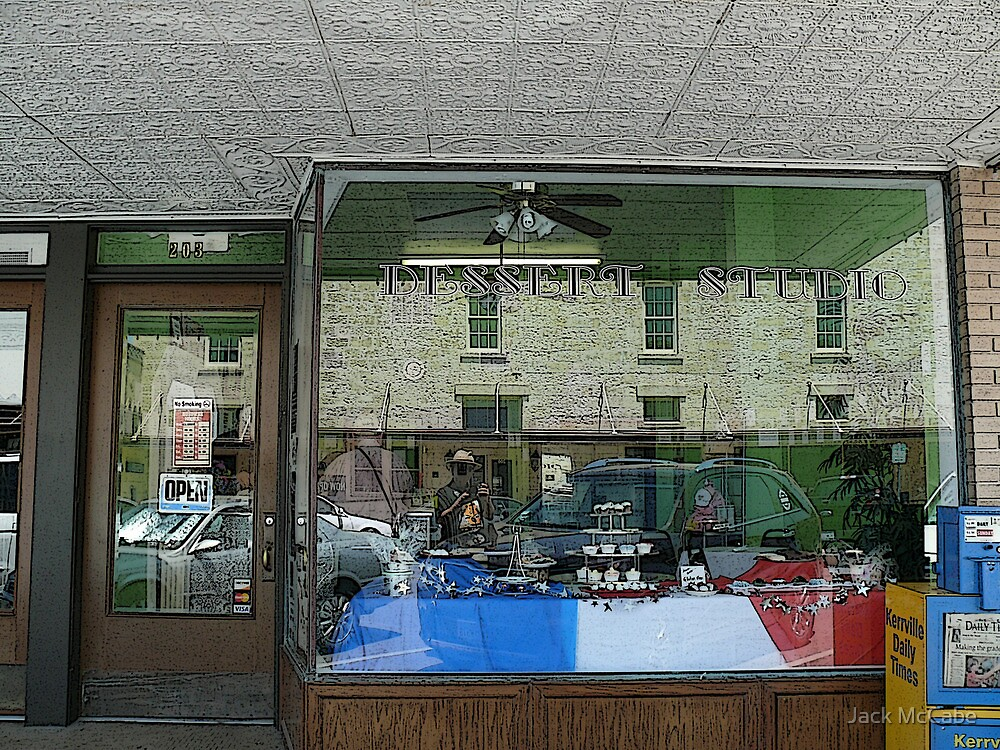 Dessert Studio - Earl Garrett Street - Kerrville, Texas by Jack McCabe