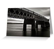 Tay Rail Bridge II Greeting Card