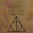 Deathly Hallows Story + Symbol by Em Herrera