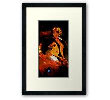 Emotional Granules  Framed Print
