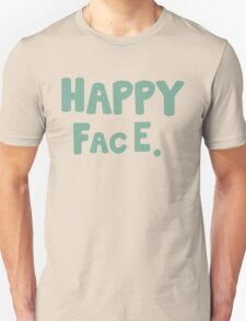Happy Face. Unisex T-Shirt