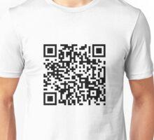 QR code - voulez vous? Unisex T-Shirt