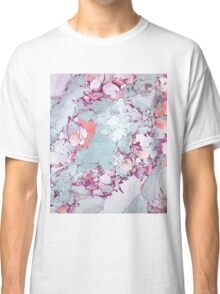 Marble Art V13 #redbubble #pattern #home #tech #lifestyle Classic T-Shirt