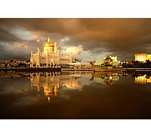 Royal Mosque in Brunei Photographic Print