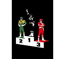 Black Ranger Power Photographic Print