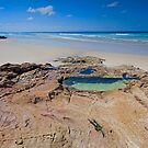 The Rock Pool - North Stradbroke Island Qld Australia by Beth  Wode
