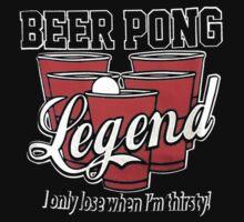 Beer Pong Legend Kids Clothes