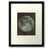 Moon Framed Print