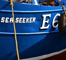 A New Coat For The Sea Seeker-Lyme,Dorset, Uk by lynn carter