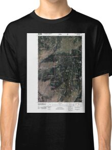 USGS Topo Map Washington State WA Mount Annie 20110429 TM Classic T-Shirt