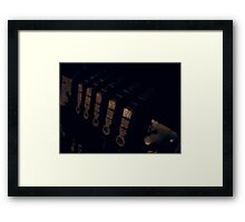 I Jump from Every Rooftop Framed Print