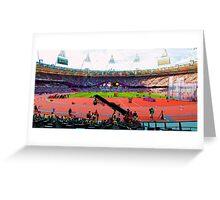 BEAUTIFUL OLYMPIC STADIUM Greeting Card