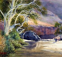 Ormiston Gorge by Joe Cartwright