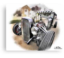 Rat Rod at Temecula Car Show Canvas Print