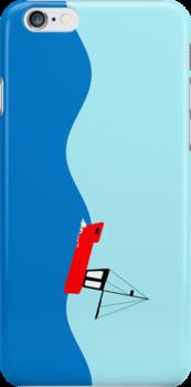 Fishing boat on the high seas by funkyworm