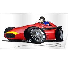 F1 1957 - Maserati 250F - Fangio Poster