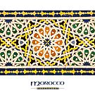 Moroccan Tile (with 'Morocco' title) by Keith Molloy